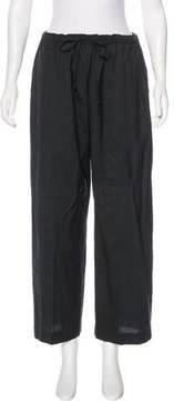 eskandar Wool & Cashmere High-Rise Pants