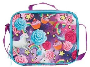 Style Lab by Fashion Angels Lunch Tote Holographic Unicorn