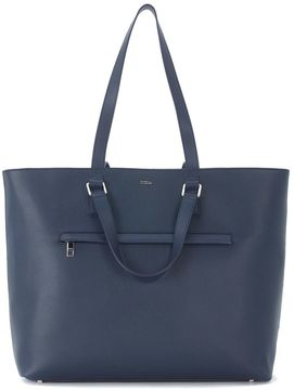 Furla Marte Blue Leather Business Bag