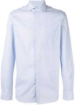 Aspesi striped chest pocket shirt
