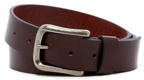 Boconi Antiqued Buckle Leather Belt