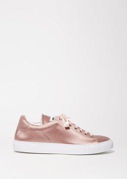 Jil Sander Pink Satin Sneaker Rosa Antico Size: IT 36