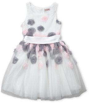 Nanette Lepore Girls 7-16) Mesh Rose Dress