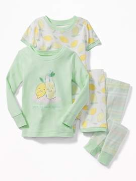 Old Navy You're My Main Squeeze 4-Piece Sleep Set for Toddler & Baby