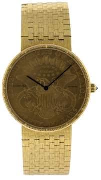 Corum 18k Yellow Gold $20 Coin Watch