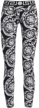VERSACE Baroque-print performance leggings