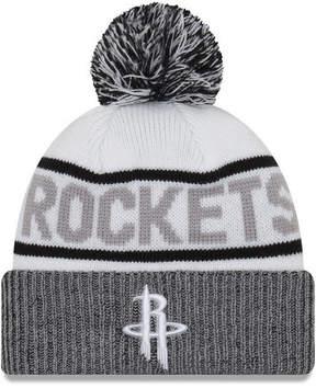 New Era Houston Rockets Court Force Pom Knit Hat