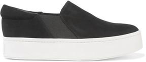Vince Warren Suede Slip-on Sneakers - Black