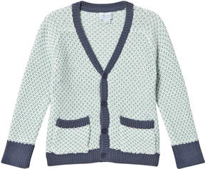 Mini A Ture Noa Noa Miniature Long Sleeve Cardigan Pale Blue