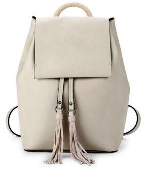 Alana Tassel Faux Leather Backpack