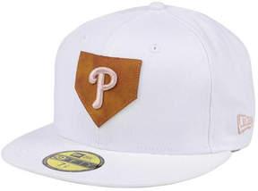 New Era Philadelphia Phillies The Logo of Leather 59FIFTY Cap
