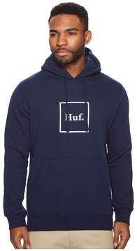 HUF Outline Box Logo Pullover Hoodie Men's Sweater
