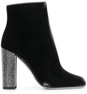Rene Caovilla jewelled high heel boots