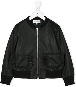 Simonetta zipped bomber jacket