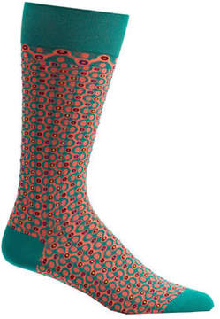 Ozone Men's Crescent Waves Socks
