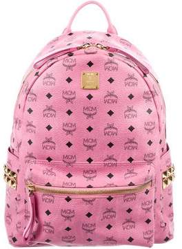 MCM Large Studded Visetos Stark Backpack