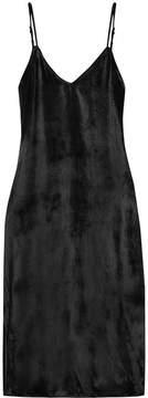 Equipment Nia Velvet Dress - Black
