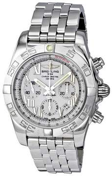 Breitling Chronomat B01 Antarctica White Chronograph Men's Watch AB011011-A690SS