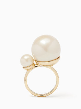 Kate Spade Girls in pearls ring