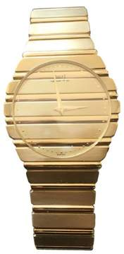 Piaget Polo 18K Yellow Gold Quartz Vintage Watch 1984