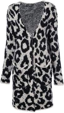 Amiri Snow Leopard cardi-coat