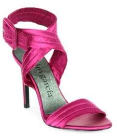 Pedro Garcia Catalina Satin Sandals
