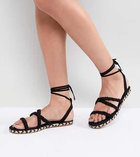 Asos JACI Plaited Espadrille Sandals