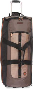 Timberland Jay Peak Cocoa 32 Wheeled Duffel Bag