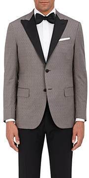 Caruso Men's Wool End-On-End Two-Button Tuxedo Jacket
