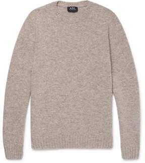 A.P.C. Mélange Wool Sweater