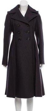 Bottega Veneta Wool-Blend Long Coat w/ Tags