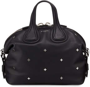 Givenchy Nightingale Small Studded Leather Satchel Bag