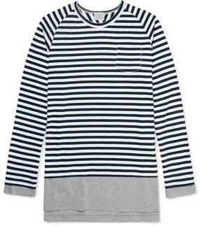 Lardini Wooster + Slim-Fit Layered Cotton-Jersey T-Shirt