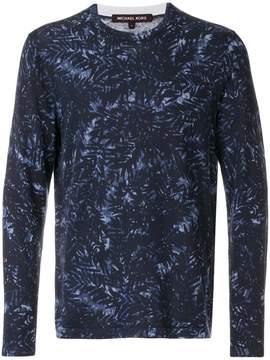 Michael Kors foliage print sweatshirt