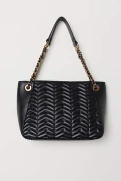 H&M Quilted Handbag - Black