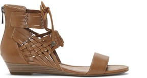 Sole Society Lourra Wedge Lace Up Sandal