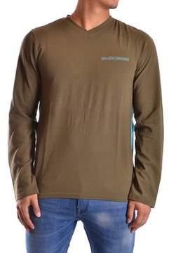 DKNY Men's Green Cotton T-shirt.