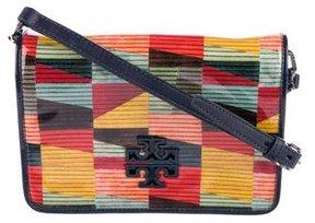 Tory Burch Britten Patent Combo Crossbody Bag w/ Tags - PATTERN PRINTS - STYLE