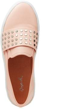 Charlotte Russe Qupid Studded Slip-On Sneakers