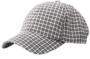 Charlotte Russe Gingham Baseball Hat