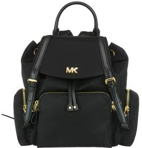 Michael Kors Medium Mott Backpack - BLACK - STYLE