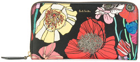 Paul Smith floral print zip purse