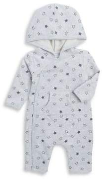 Absorba Baby Boy's Star Hooded Coveralls