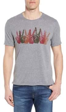 John Varvatos Peace Sign Crewneck T-Shirt