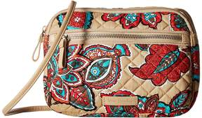 Vera Bradley Iconic Little Crossbody Cross Body Handbags - DESERT FLORAL - STYLE
