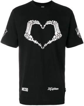 Kokon To Zai Heart skeleton T-shirt