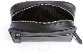 Royce Leather Royce Black Toiletry Bag in Genuine Leather