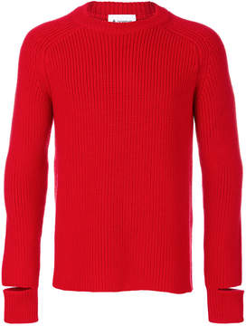 Dondup open cuff knit pullover