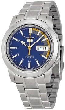 Seiko 5 Blue Automatic Blue Dial Men's Watch