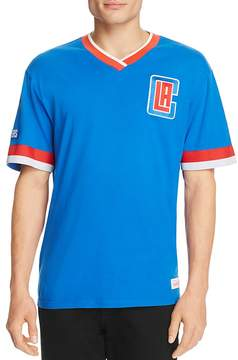 Mitchell & Ness Los Angeles Clippers Vintage NBA V-Neck Tee